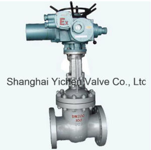 Electric Cast Steel Flange Gate Valve (Z940/941Y/H) pictures & photos