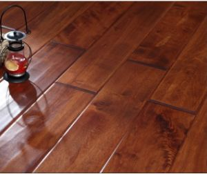 Antique Solid Maple Wood Flooring / Parquet pictures & photos