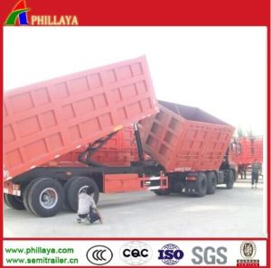 Best Selling Hydraulic Tipping Trailer for Sale pictures & photos