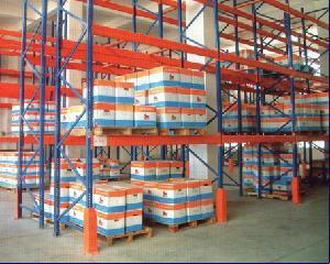 ISO Standard Warehouse Pallet Storage Steel Rack System pictures & photos