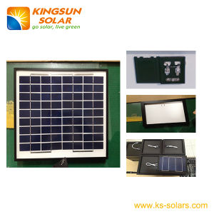 10W Small Size Poly-Crystalline Solar Panel pictures & photos