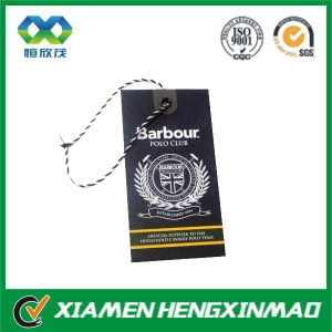 China Manufacturer Hot Sale Clothes Hang Tag
