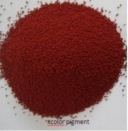 Granular Iron Oxide Red for Paint pictures & photos