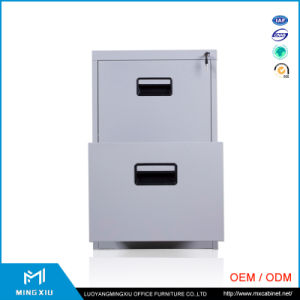Luoyang Mingxiu Office Metal File Cabinet / 2 Drawer Steel File Cabinet pictures & photos