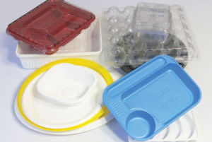 Plastic Biscuit Box Thermoforming Machine pictures & photos