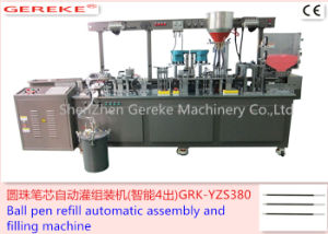 Ball Pen Refill Automatic Assembly and Filling Machine pictures & photos