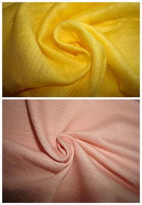 Ramie Single Jersey Slub Fashion Fabric pictures & photos