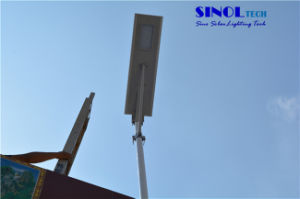 High Power 70W LED Integrated Solar Street Light -All in One Solar Light - Timer Control pictures & photos