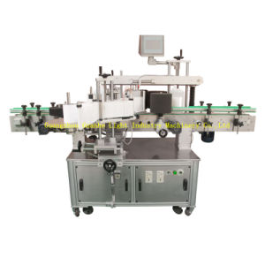 Auto Labeling Machine for 2-Side Labeling of Square/Flat Bottles pictures & photos