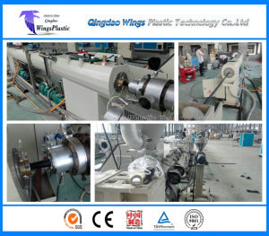 16mm-110mm Plastic HDPE Pipe Making Machine / PE Pipe Production Line pictures & photos