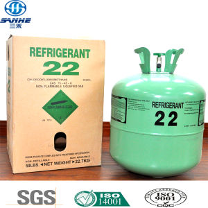Refrigerant Gas R22 in Ton Cylinder (Ton tank) pictures & photos