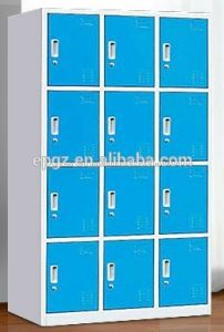 High School Metal Wardrobe Lockers for Student pictures & photos