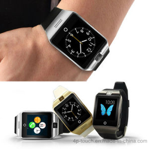 Bluetooth 3.0 Smart Watch Phone with SIM Card Slot (DZ09) pictures & photos