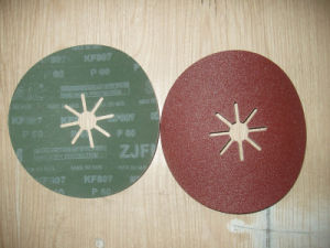 180mm X 8 Cut Aluminum Oxide Fiber Disc (KF807)