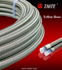 Zmte Teflon PTFE Flexible Hoses pictures & photos
