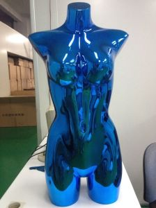 New Fashion Electroplating Female Torso Mannequin (PC-UN-043)