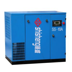 37~250kw Oil-Injected Electric Industrial Rotary Screw Type Air Compressor with Air Dryer