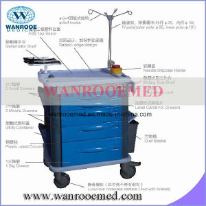 Bet-82021b Emergency Medicine Trolley pictures & photos