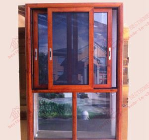 High Quality Aluminium Silding Window with Transom (BHA-SW22) pictures & photos