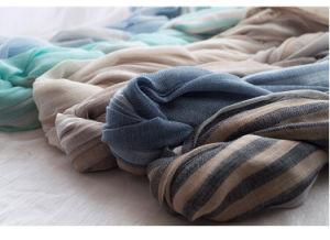 Wholesale Fashion Plaid Women Cotton Shawls Scarf Pashmina pictures & photos