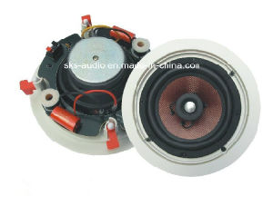 Indoor Ceiling Speaker with Coaxial Tweeter for Public Address System