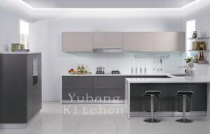 Baked Paint Kitchen Cabinet (M-L96) pictures & photos