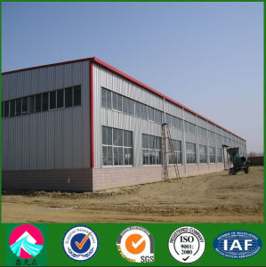 Portal Frame Light Steel Building Prefab Steel Workshop (FW-SSW) pictures & photos