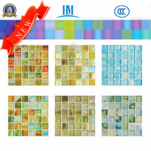 Glass Mosaic/Colored/Swimming Pool/TV Wall/ Glass Mosaic pictures & photos