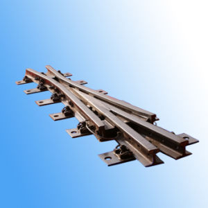 60kg/M 6# Alloy Steel Point Rail Assembled Frog--Acute Angle pictures & photos