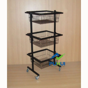 3 Tier Ajustable Wire Basket (PHY536) pictures & photos