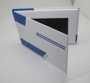 7 Inch Custmoized Printing Video Player Greeting Card Business and Invitation Brochure pictures & photos