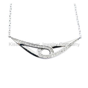 Fine Jewelry, Sterling Silver Jewellery Pendant Necklace (KN3062) pictures & photos