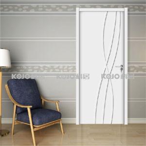 Solid Wood Plastic Composite WPC Security Door (YM-071) pictures & photos