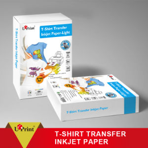 Waterproof 100GSM Glossy Photo Paper T-Shirt Transfer Inkjet Paper pictures & photos