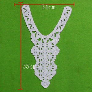 Embroidery Cotton Chemical Collar Lace (cn136) pictures & photos
