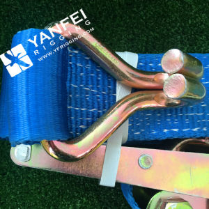 10ton*15m Ratchet Strap with Aluminium Handle pictures & photos