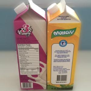 1L Fresh Milk Gable Top Carton pictures & photos