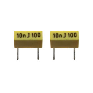 Box Type 100V 104j Polyester Film Capacitor pictures & photos