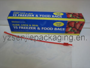 LDPE Slider Bags in Color Box