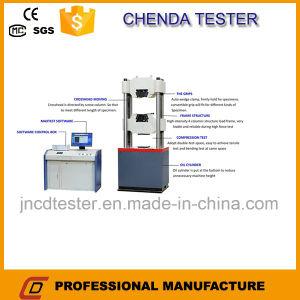 Waw600dcomputerized Steel Rebar Tensile Strength Testing Machine +Bending Testing Machine pictures & photos