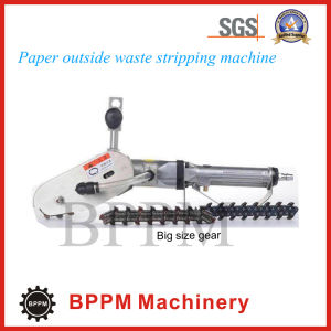 Manual Corrugated, Cardboard, Paper Waste Side Stripping Machine pictures & photos