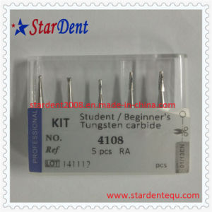 Dental Student/Beginner′s Tungsten Carbide Burs (RA) Kit Surgical Medical Instrument pictures & photos