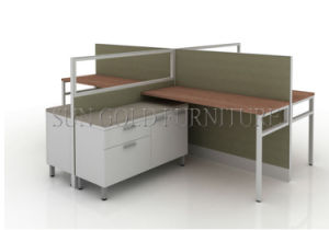 Office Workstation for 4 People, Office Partition Furniture (SZ-WS136) pictures & photos