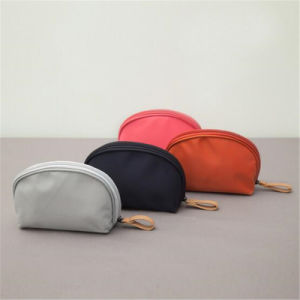 Korea Styletravel Sector Semicircle Makeup Bag Shell Bag / Digital Zipper Bag (GB#GYSXB001) pictures & photos