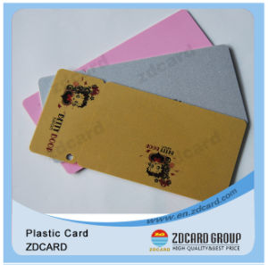Shimmer Silver or Gold Glittering PVC Cards pictures & photos