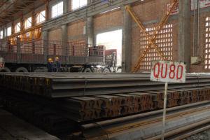 Crane Rail Qu80 Heavy Rail Steel Rail (YB/T5055-93)
