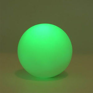 Color Changing PVC Ball LED Night Light for Indoor Lighting