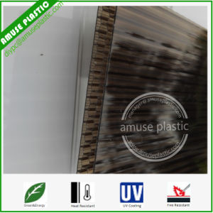 8mm Four-Wall Cellular Honeycomb Sheet Strong Plastic Polycarbonate PC Board pictures & photos