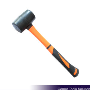 Rubber Mallet with Fiberglass Handle (T05076)