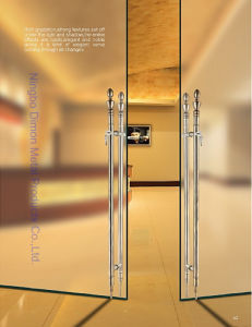 Dimon H Type Stainless Steel Glass Door Handle Dm-DHL 041 pictures & photos